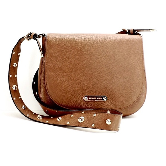57632816e319 Michael Kors Bags | Last 1 Authentic Mk Hayes Studded Leather Bag ...